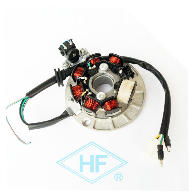 Electronic Parts Honda Motorcycle Stator , Copper Motorcycle Magneto Coil