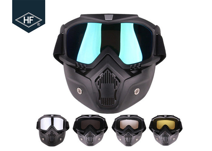 Custom Aftermarket Motorcycle Accessories TPU PC Riding Goggles Mask For Man